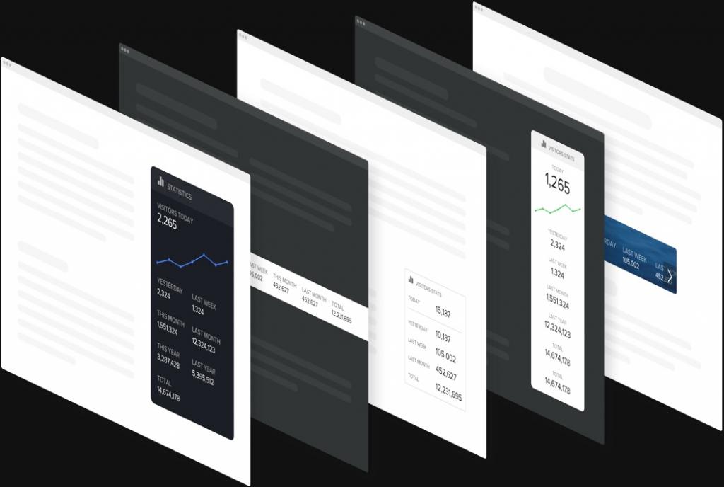 Design straordinario senza necessità di scrivere codice