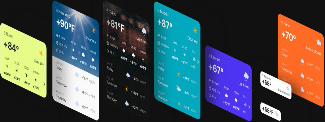 Простые опции для стильного интерфейса
