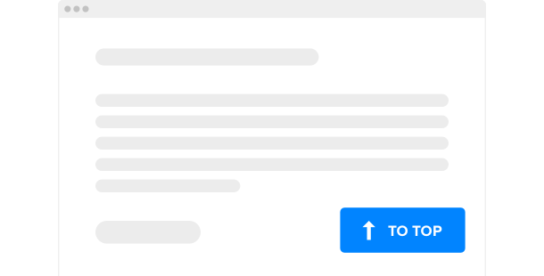 Кнопка Вверх для прокрутки страниц сайта