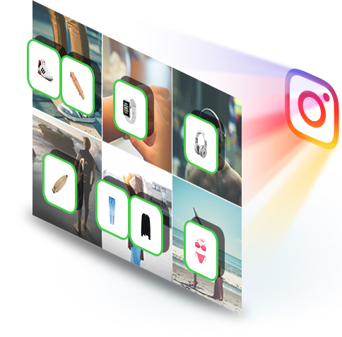 Elfsight Shoppable Instagram Feed