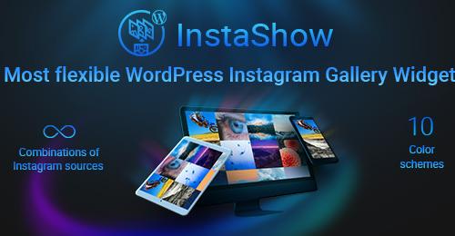Welcome InstaShow – WordPress Instagram Gallery Widget!