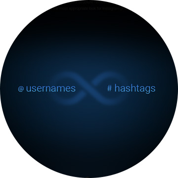 Instagram feed by any combination of hashtags and usernames