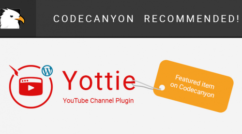 Yottie Became A Featured Item on CodeCanyon