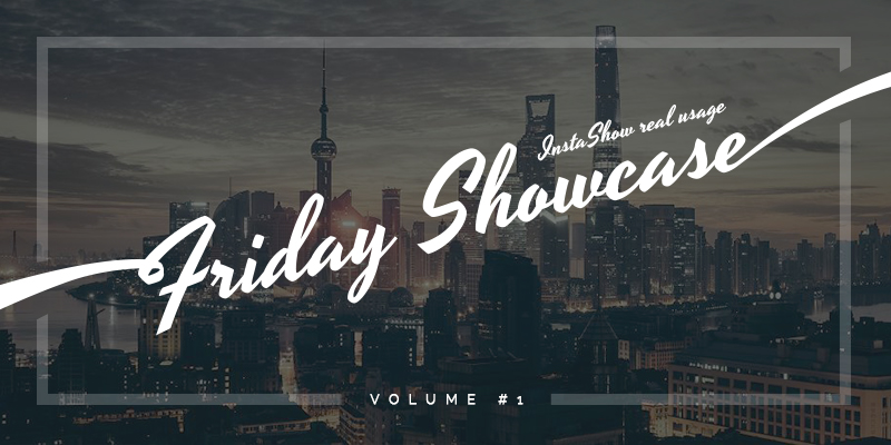 Friday Showcase Volume #1