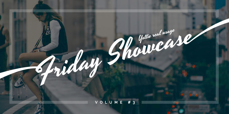 Friday Showcase Volume #3