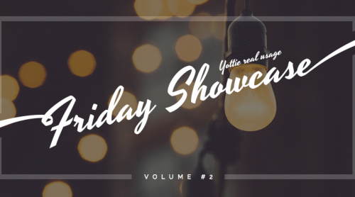 Friday Showcase Volume #2