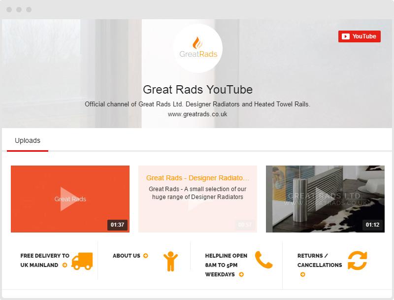 Shopify Radiators YouTube Gallery