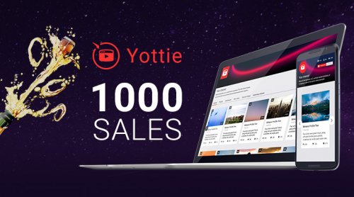 WordPress YouTube Plugin First Thousand Sales on CodeCanyon