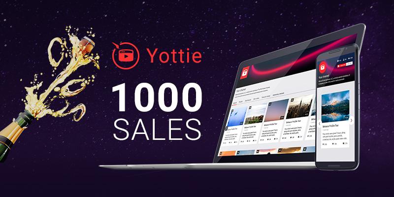 WordPress YouTube Plugin First Thousand Sales on CodeCanyon