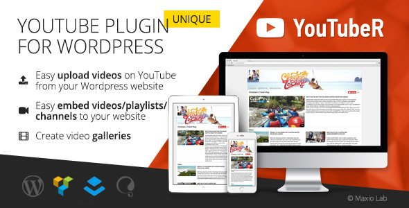 YouTubeR - WordPress plugin for YouTube