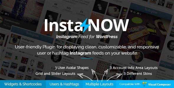 InstaNOW - Instagram plugin