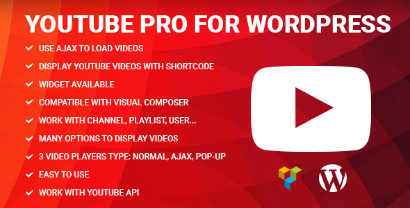 YouTube Pro - YouTube widget for WordPress