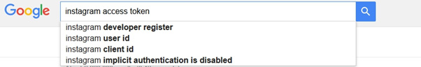 Google prompts