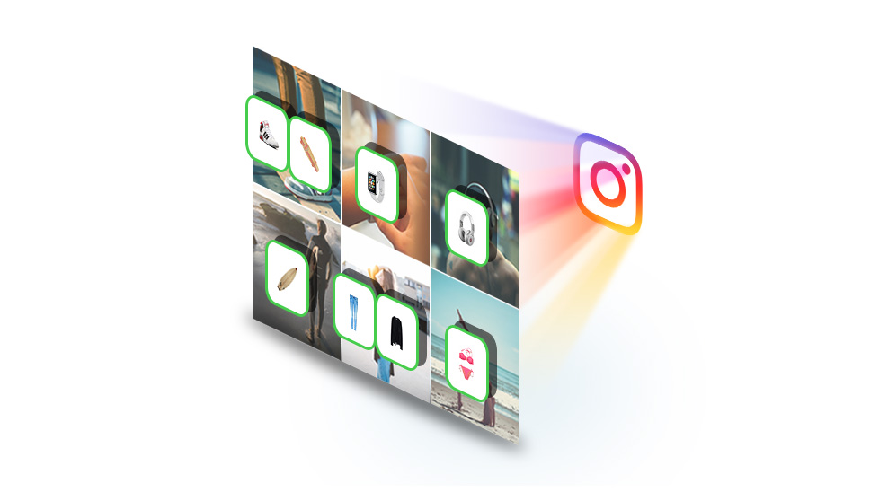 Shoppable Instagram Feed Preview