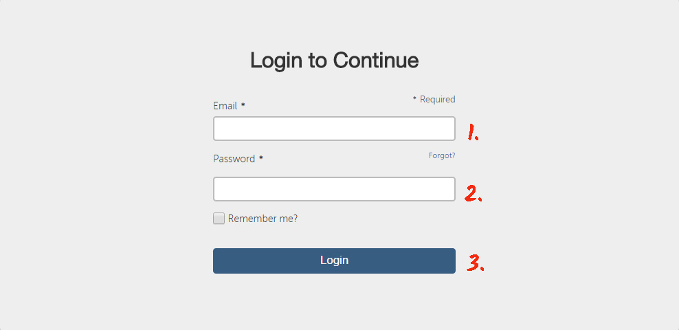 Login to your Yola account