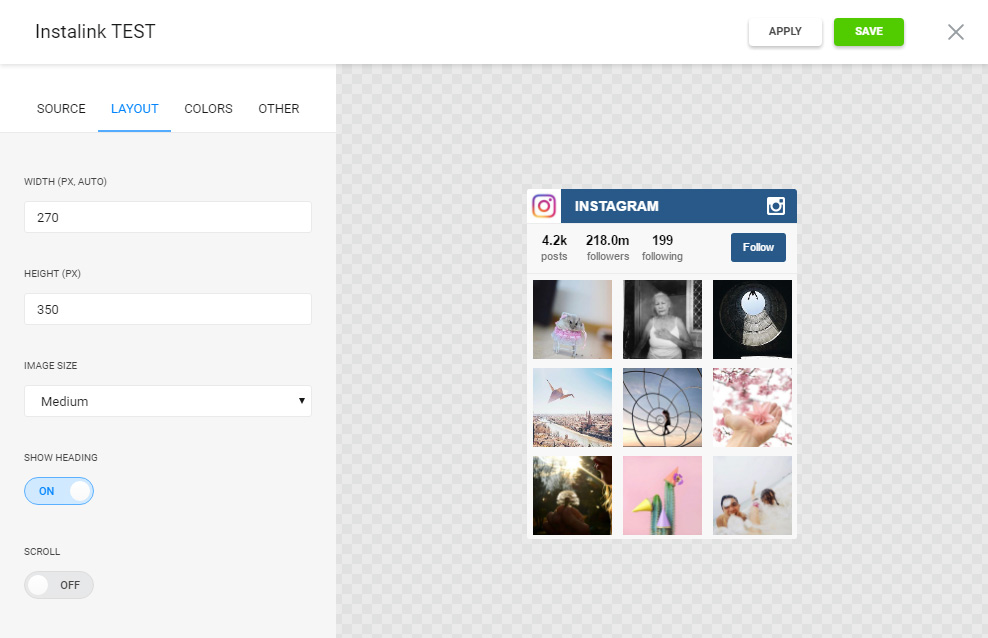 How to add instagram photo and image widget to shopify elfsight apps you are able to find all the merits at the instagram widget page ccuart Choice Image