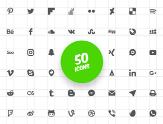 50 SVG Icons