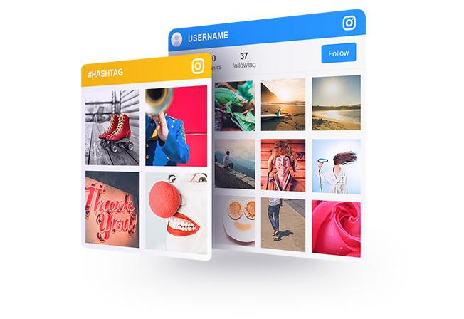 Instagram Widget InstaLink Pic