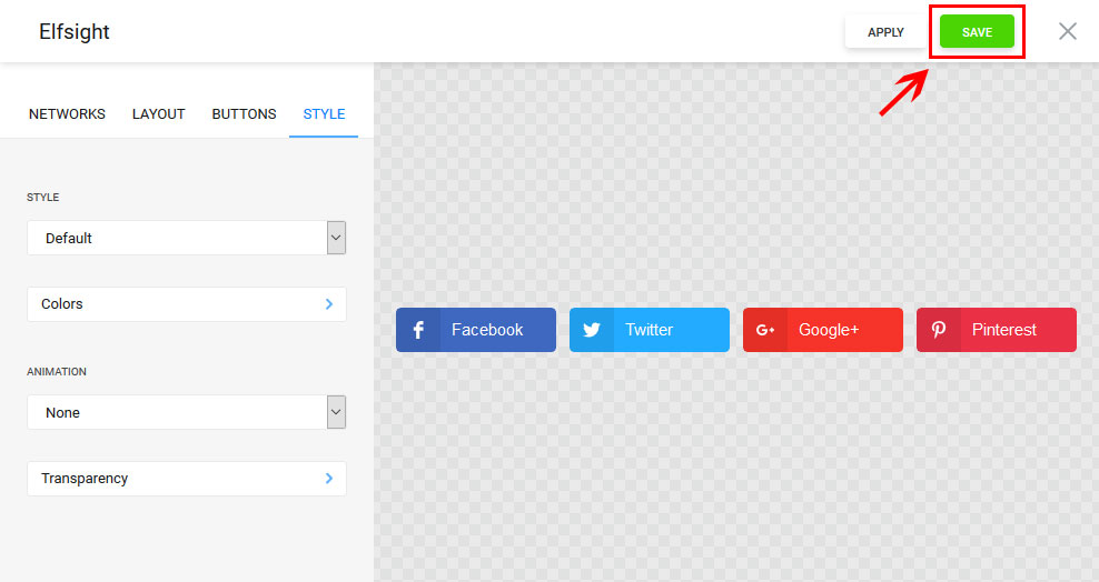 How to add Social Share Buttons to a Blogger - Free Buttons