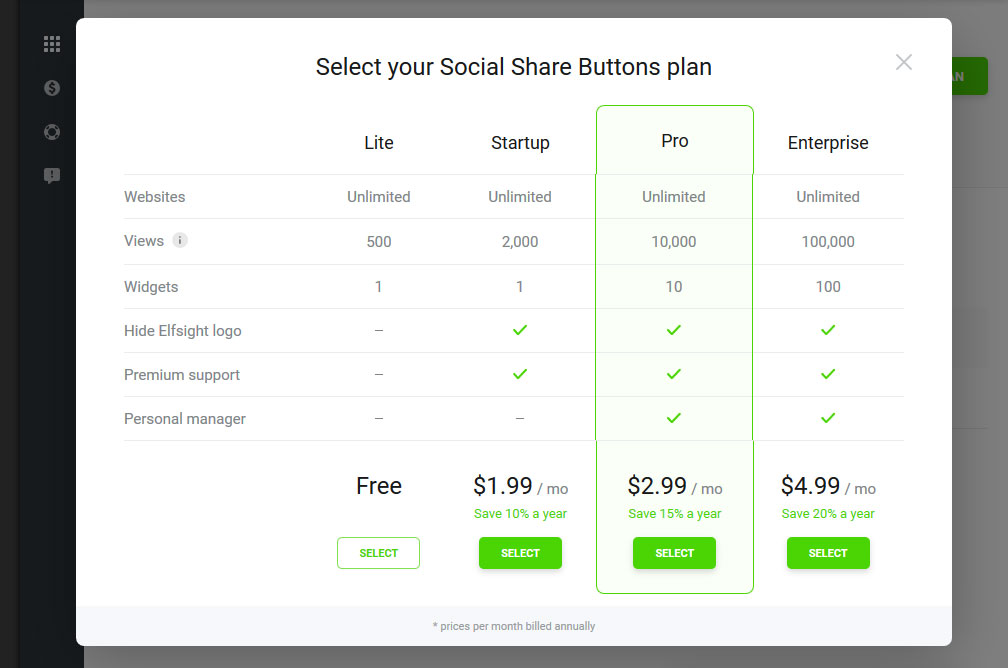 How to add Social Share Buttons to an HTML website - Free Buttons