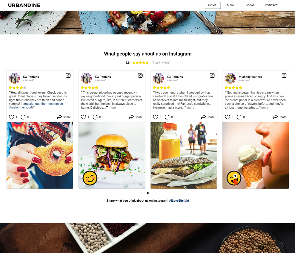 how to add instagram testimonials to squarespace