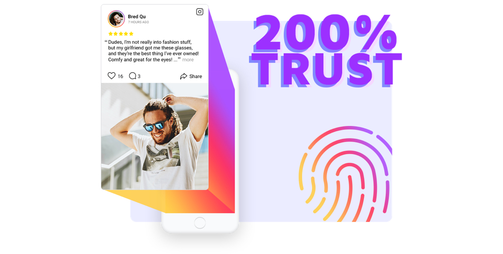 Boost your website trust with Instagram Testimonials