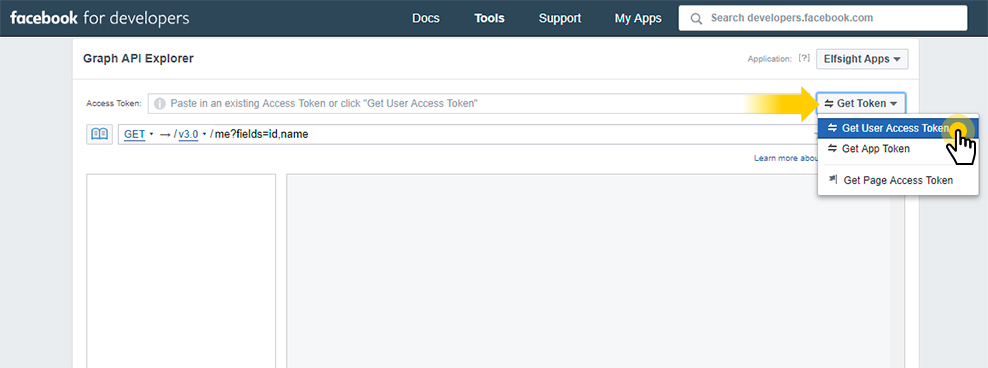 Get your User Access Token