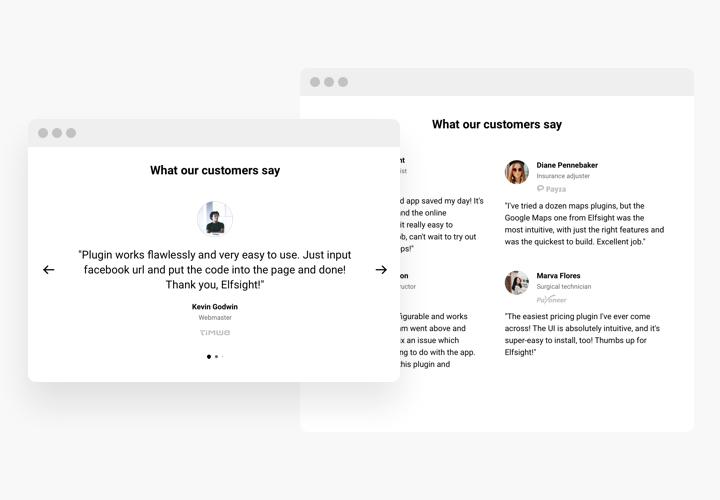 Testimonials Slider – Add Testimonials widget to Adobe Muse website