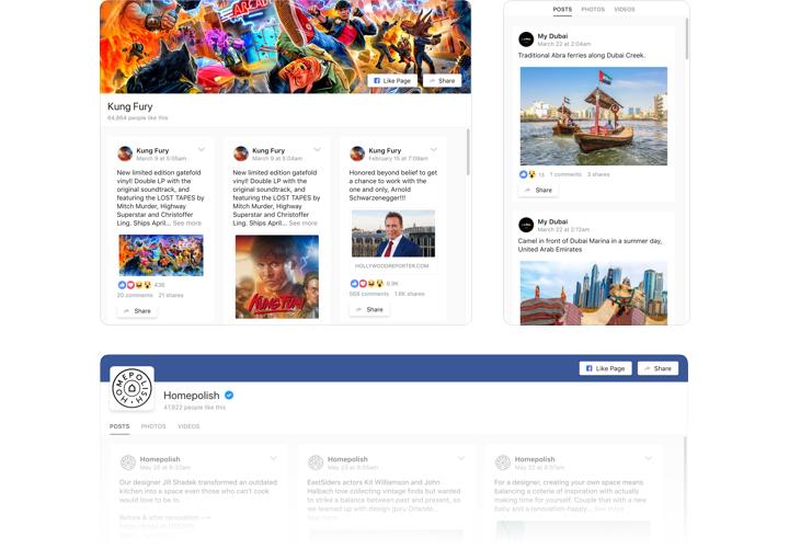 Facebook Feed - Add Facebook extension to Joomla website
