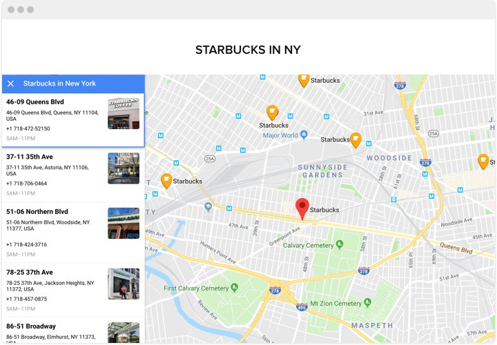 Google Maps - Add Map widget to Webflow website