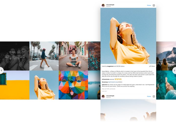 Instagram Feed - Add Instagram widget to Adobe Muse website
