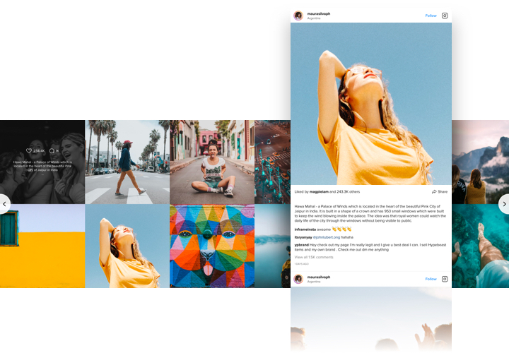 Instagram Feed - Add Instagram app to BigCommerce website