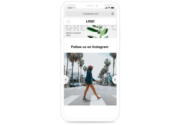 Instagram Feed - Add Instagram widget to Adobe Muse website
