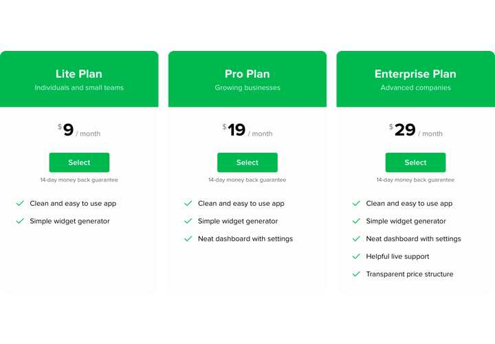Pricing Table - Add Pricing app to Shopify store (in 2 minutes)