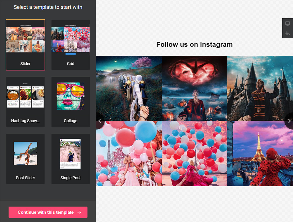 How to embed Instagram Feed to iFrame website (fast and easy)