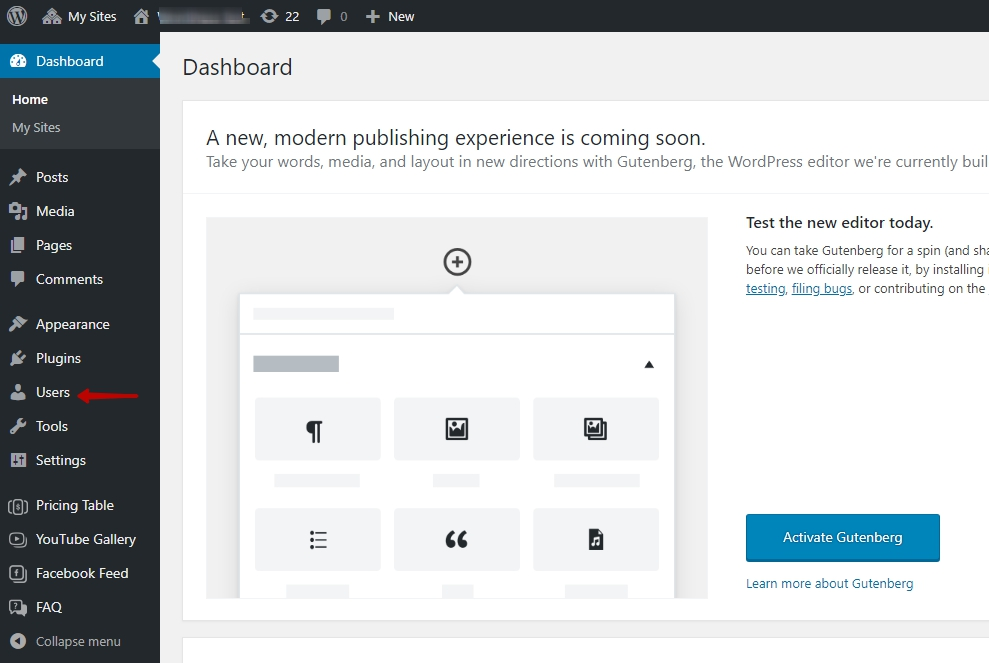 Adding new users to your WordPress admin panel - Elfsight