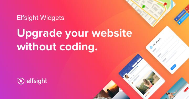 30+ Website Widgets — To Grow Your Business — Elfsight Apps