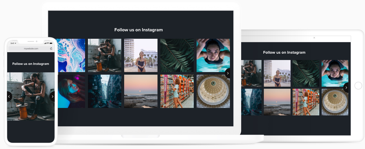 Custom Instagram Feed