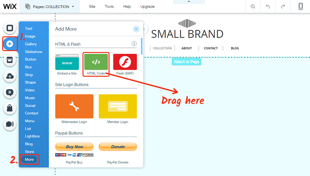 How To Add Social Share Button To Wix Website