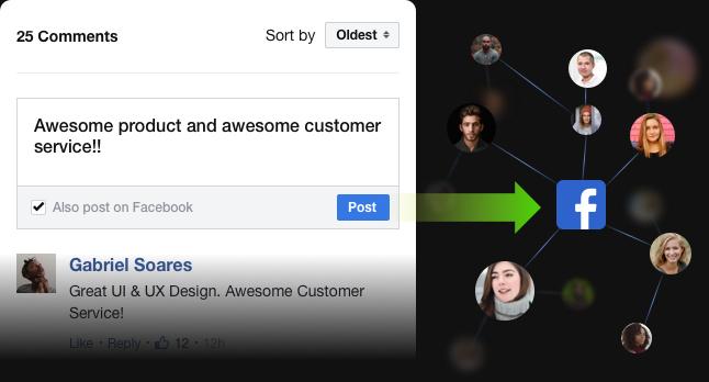 Grow your popularity via Facebook
