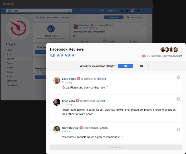 Get your Facebook reviews do the job on your website