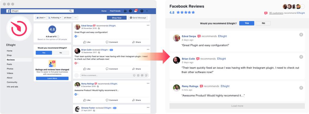 funktion für facebook wird aktualisiert