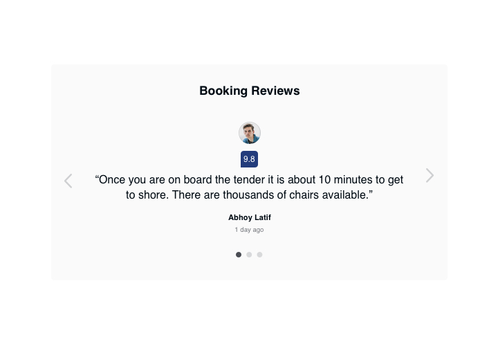 Embed Airbnb Reviews on your WordPress website (easy and fast)
