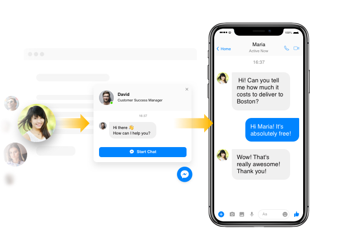 Facebook Chat - add Messenger app to Weebly website (in 2