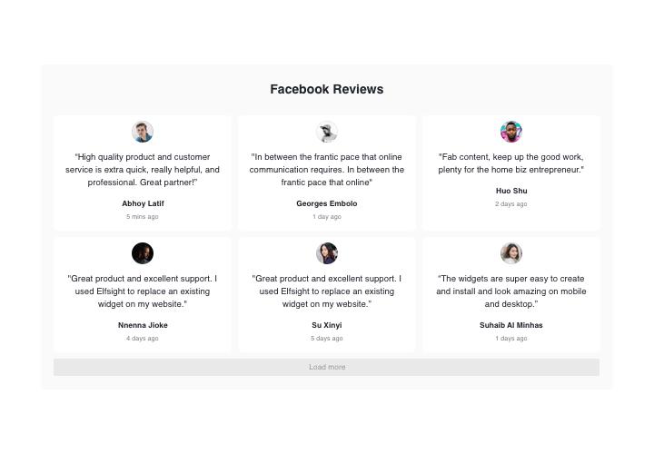 The best Facebook Reviews extension for Joomla Website (2019)