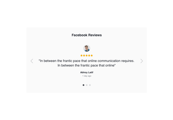 The best Facebook Reviews app for Wix website (2019)