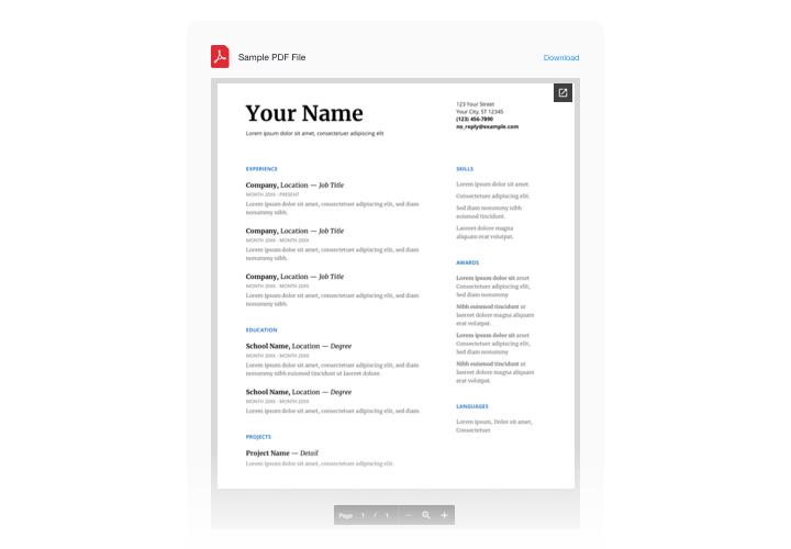PDF Viewer - Embed PDF widget on Adobe Muse website (free