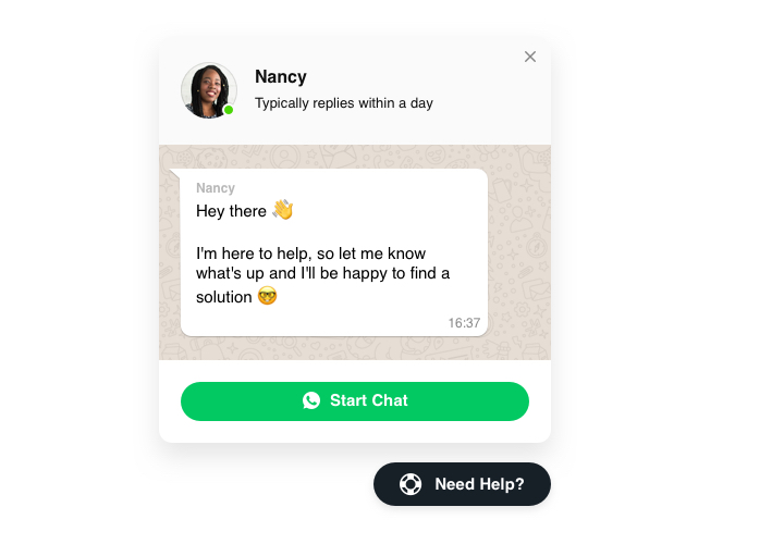 Add Whatsapp Live Chat code to HTML website (in 2 minutes)