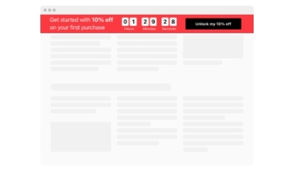 Evergreen Sale countdown template