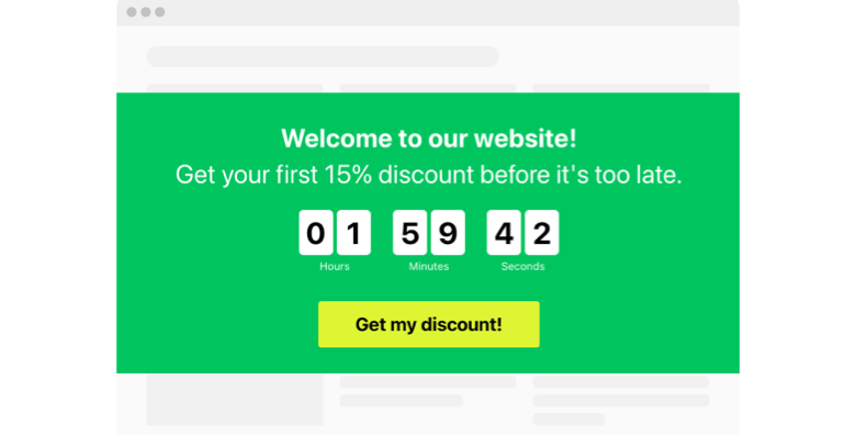 Evergreen Countdown Timer widget